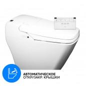 Электронный унитаз-биде SensPa Tankless TCB-080sA (Квадратная керамика)